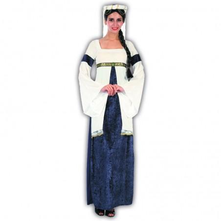 Princesa medieval disfraz adulto
