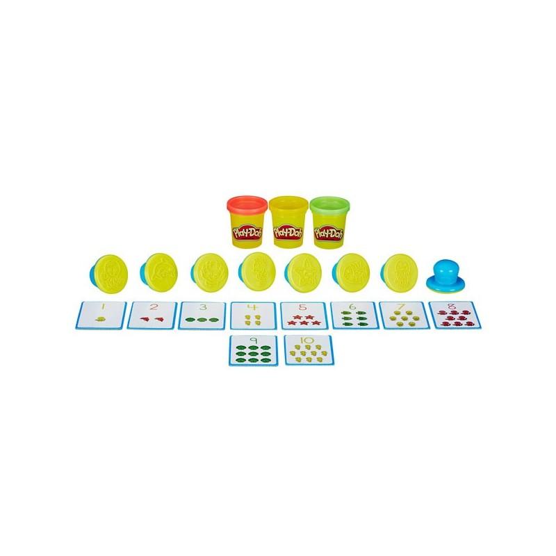 Aprendo Números y Cuentas Play-Doh