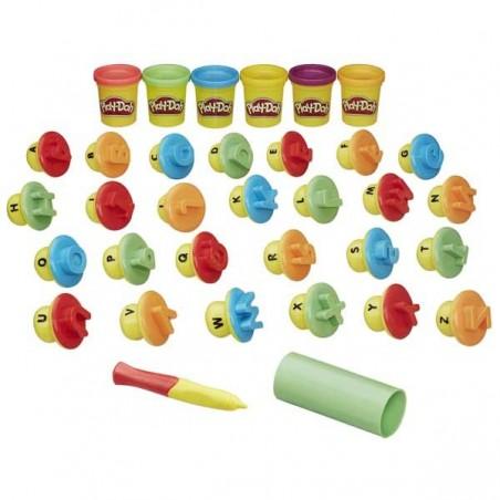 Aprendo Letras y Palabras Play-Doh