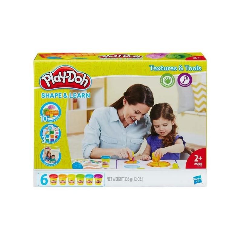 Aprendo Texturas y Colores Play-Doh