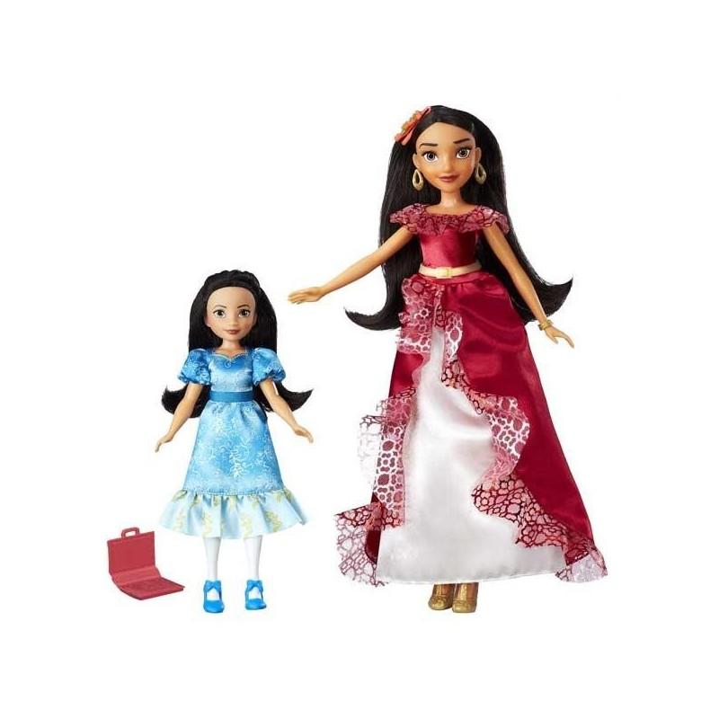 Elena de Avalor y Princesa Isabel