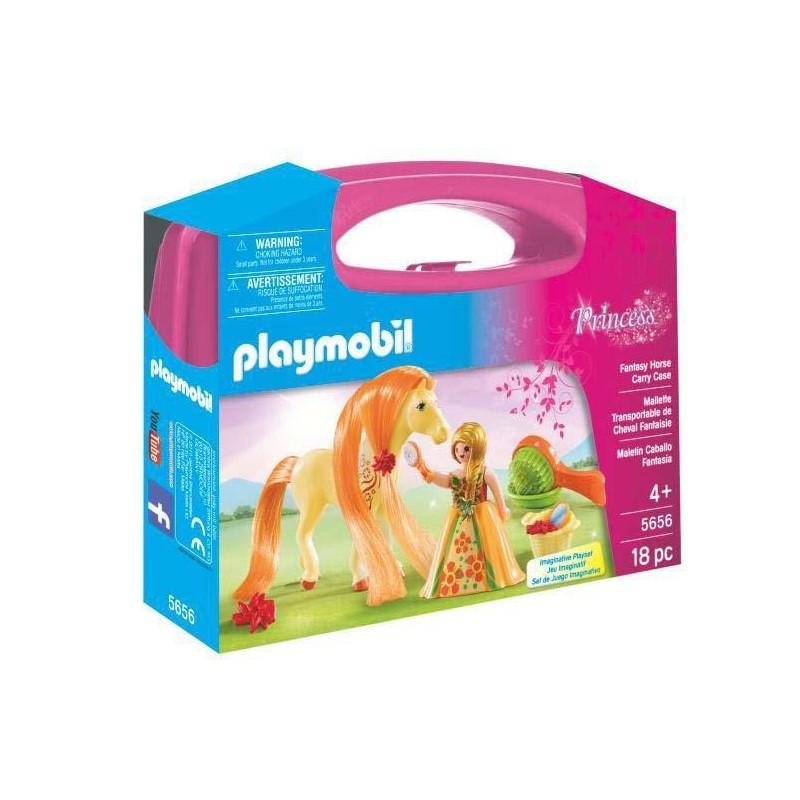 Maletín Grande Princesa con Caballo Playmobil