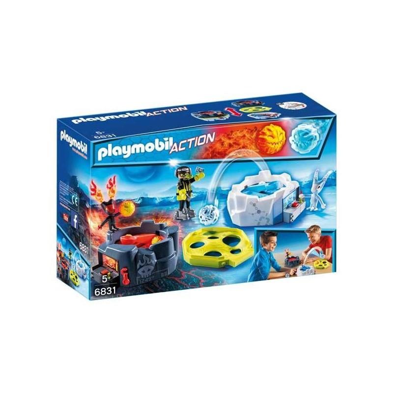 Zona de Combate con Robots Playmobil