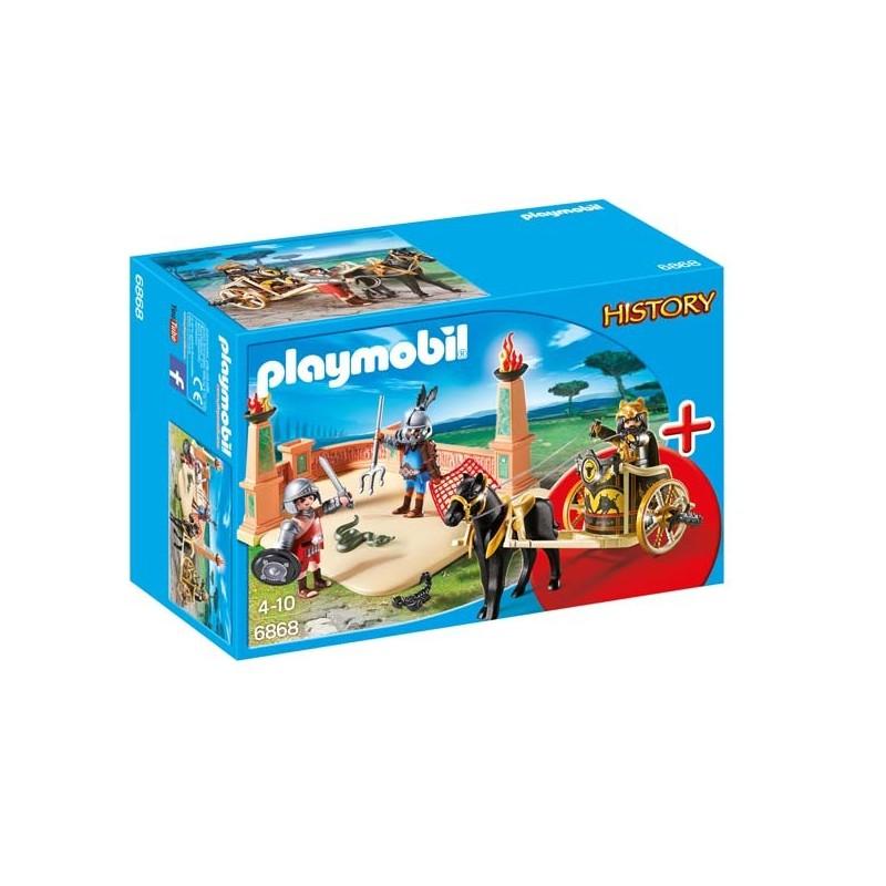 Combate de Gladiadores Playmobil