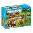 Leñador con Tractor Playmobil