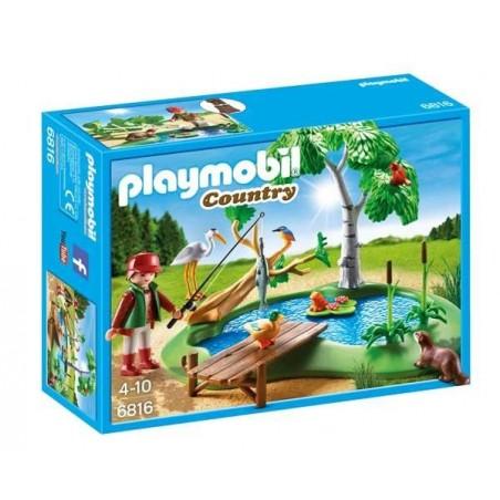 Lago con Animales Playmobil
