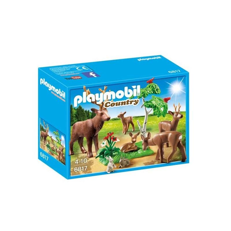 Familia de Ciervos Playmobil