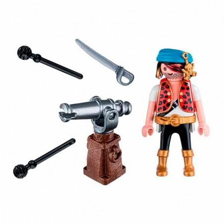 Playmobil Pirata con Cañon