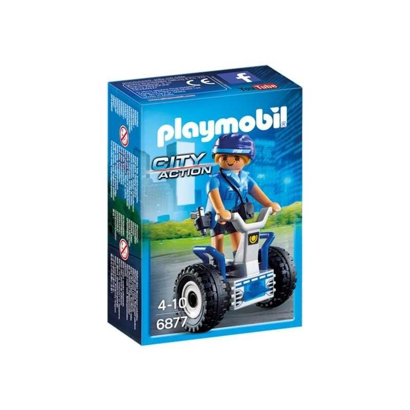 Playmobil City Action Policia con Balance Racer