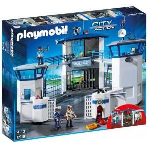 Comisaría de Policía con Prisión Playmobil