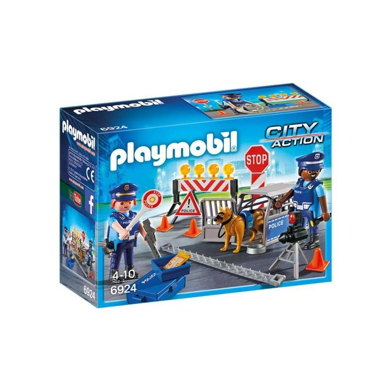 Control de Policía Playmobil