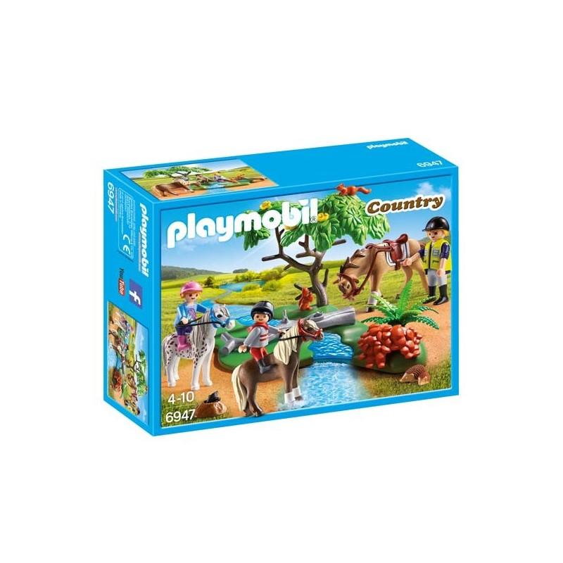 Paseo de Ponis en el Campo Playmobil