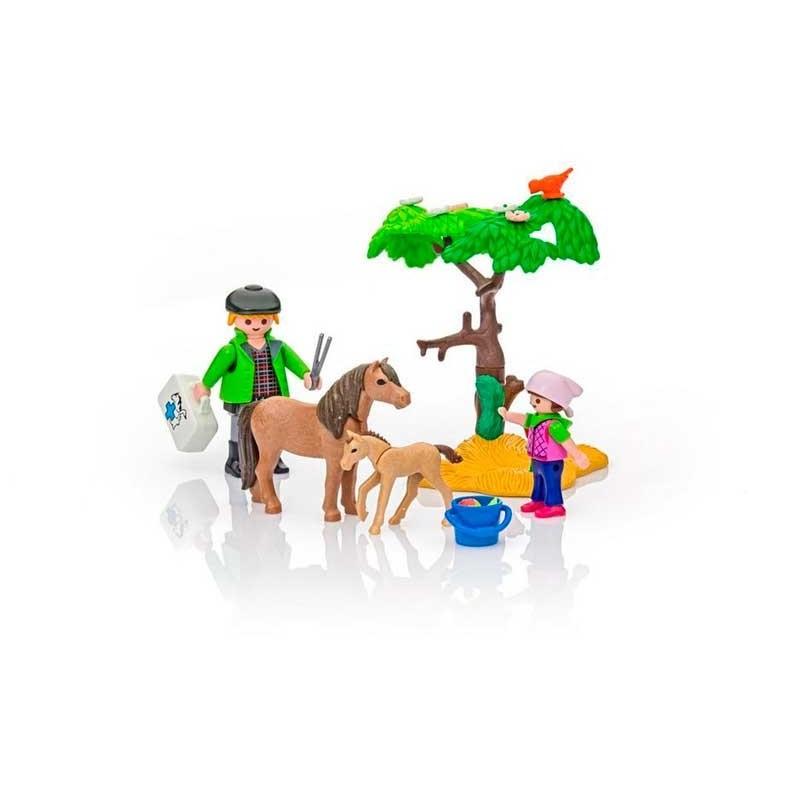 Playmobil Country Veterinario con Ponis