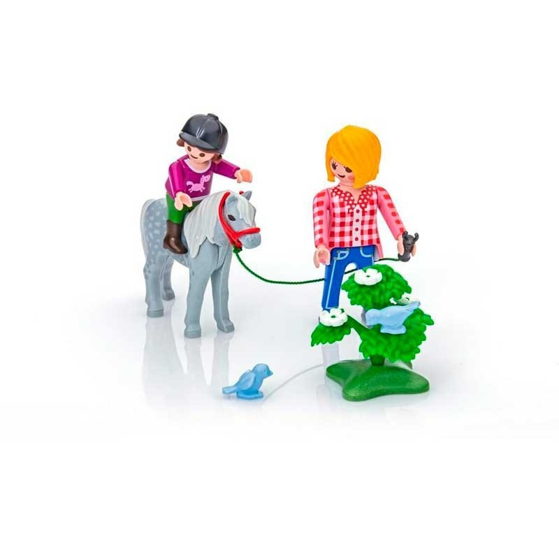 Playmobil Country Paseo con Poni