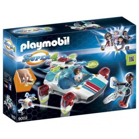 Fulgurix con Agente Gene Playmobil