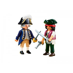 Playmobil Duo Pack Pirata y Soldado