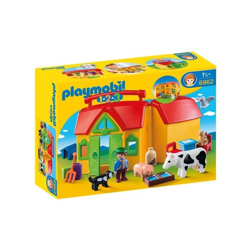 Granja Maletín 1.2.3 Playmobil