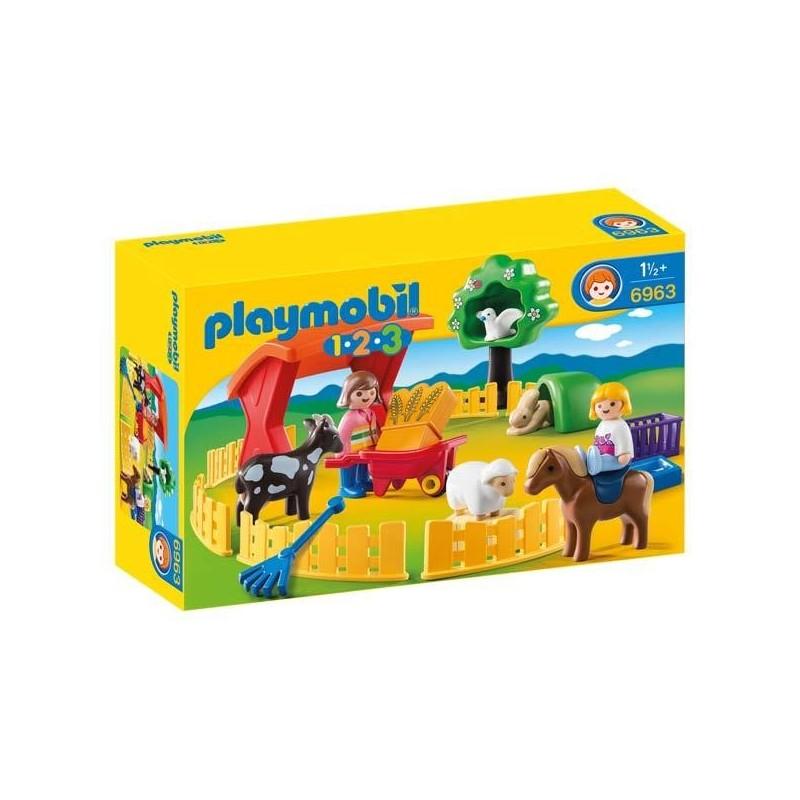 Recinto de Mascotas 123 Playmobil