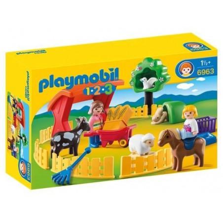 Recinto de Mascotas 1.2.3 Playmobil