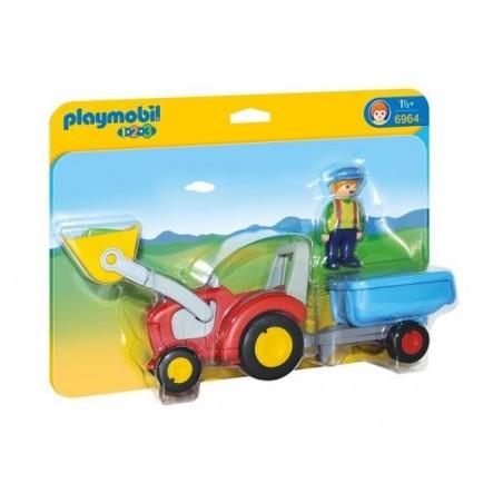 Camión con Trailer 1.2.3 Playmobil