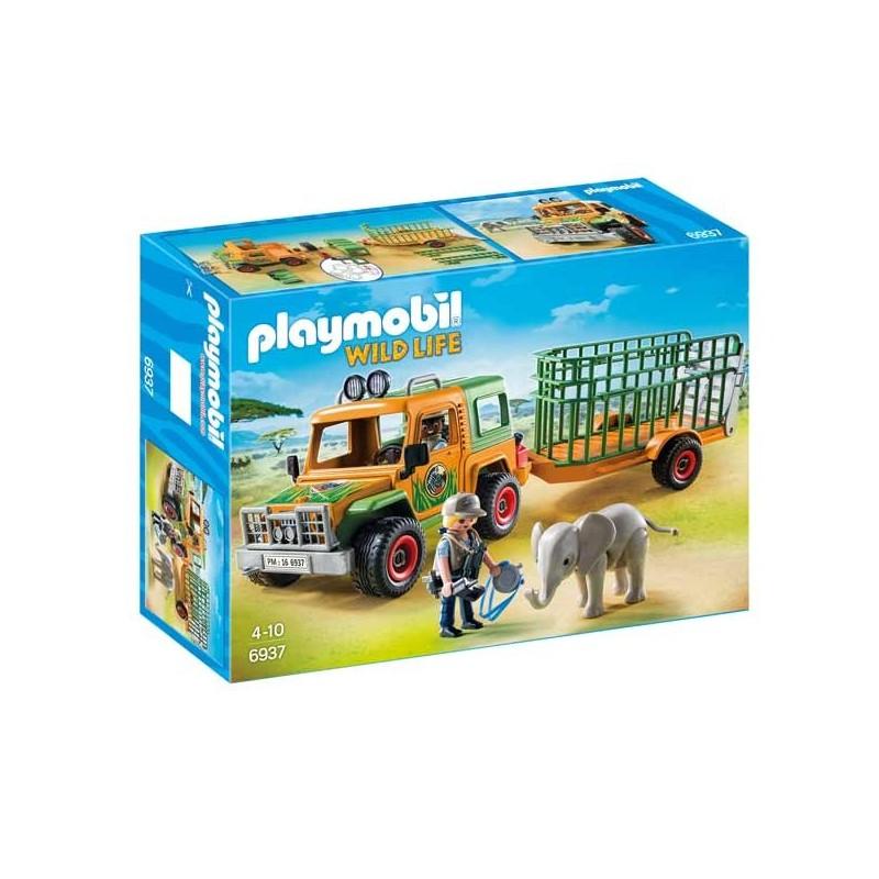 Camión con Elefante Playmobil