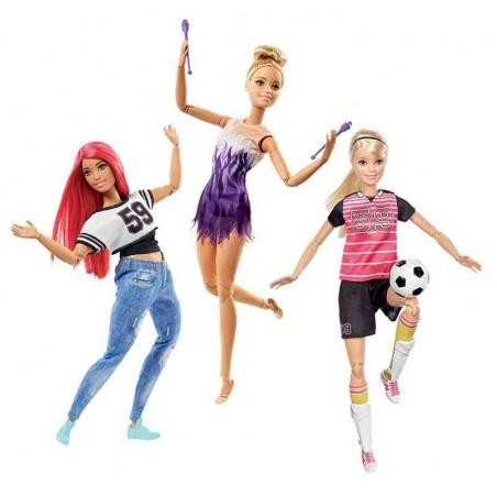 Barbie Movimiento Sin Límite Deportivo
