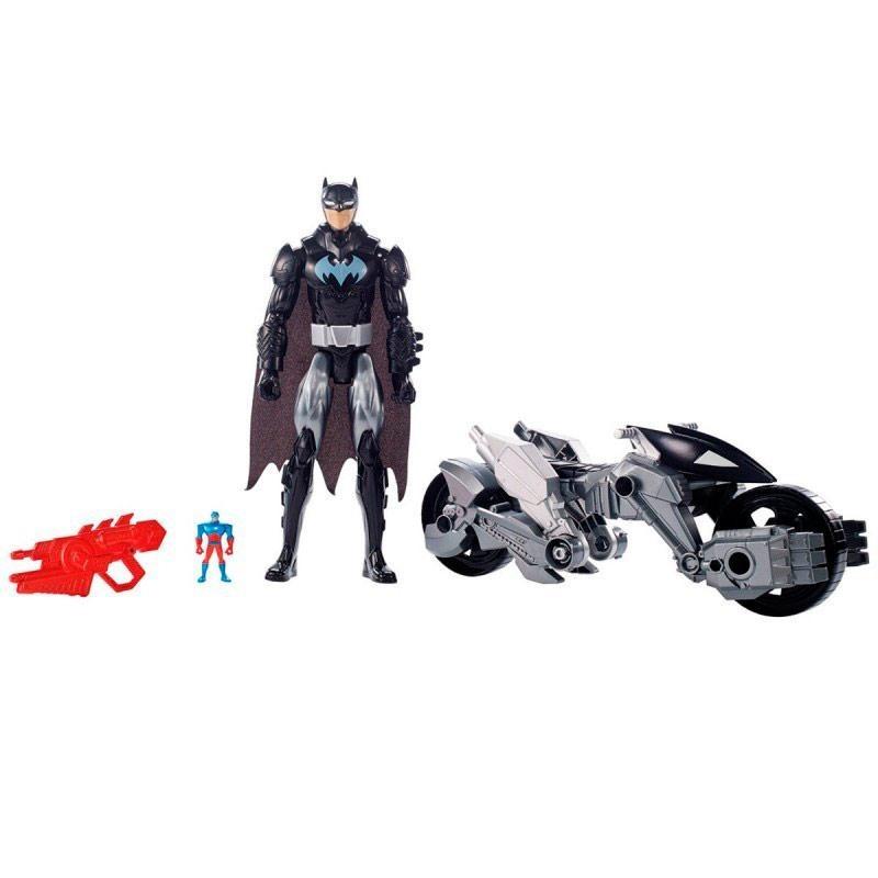 Batman Liga de la Justicia con Vehículo