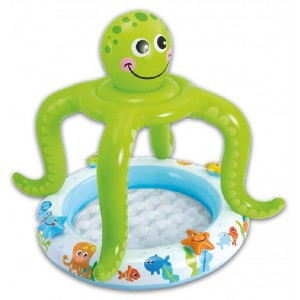 Piscina Hinchable Pulpo