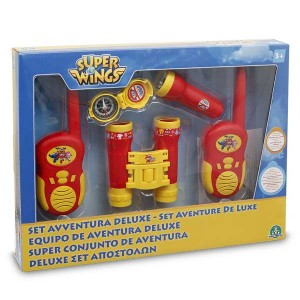 Set Aventurero Deluxe Super Wings