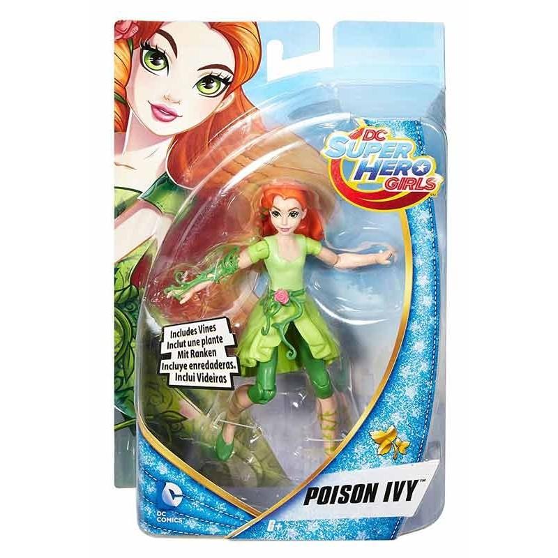 DC Super Hero Girls Muñeca Poison Ivy