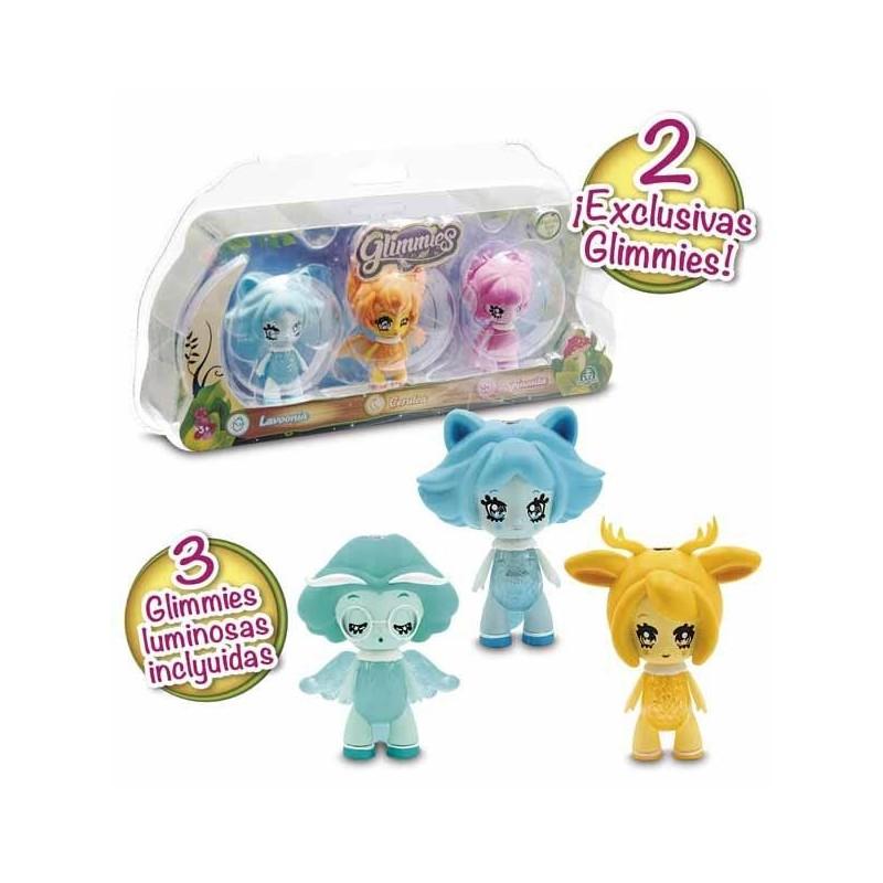 Glimmies Set 3 Figuras