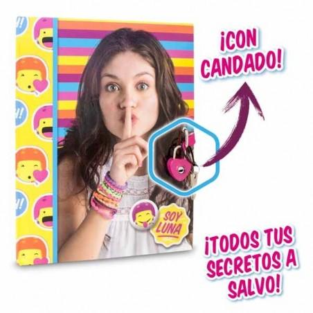 Diario Secreto con Candado Soy Luna