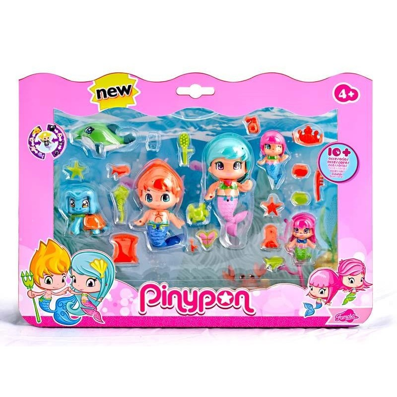 Pinypon Sirenas Pack 6