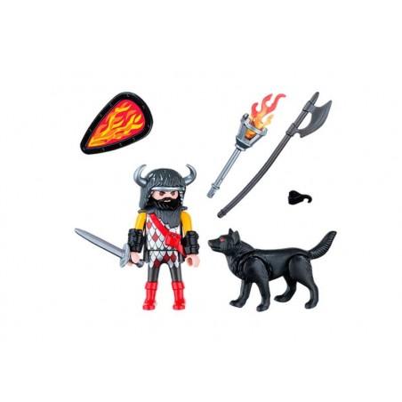 Playmobil Guerrero Lobo