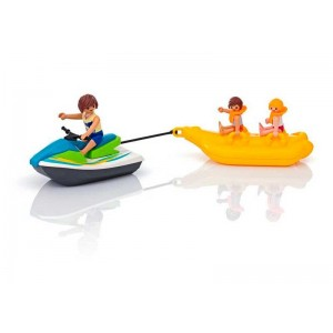 Playmobil Family Fun Moto de Agua con Banana