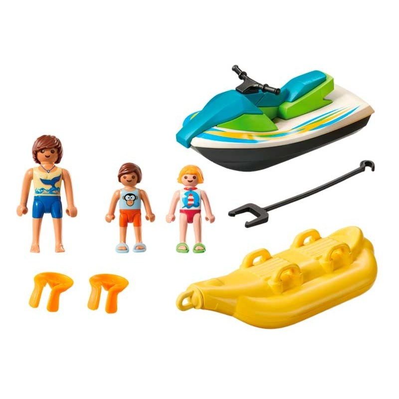 Playmobil Family Fun Moto de Agua con Banana