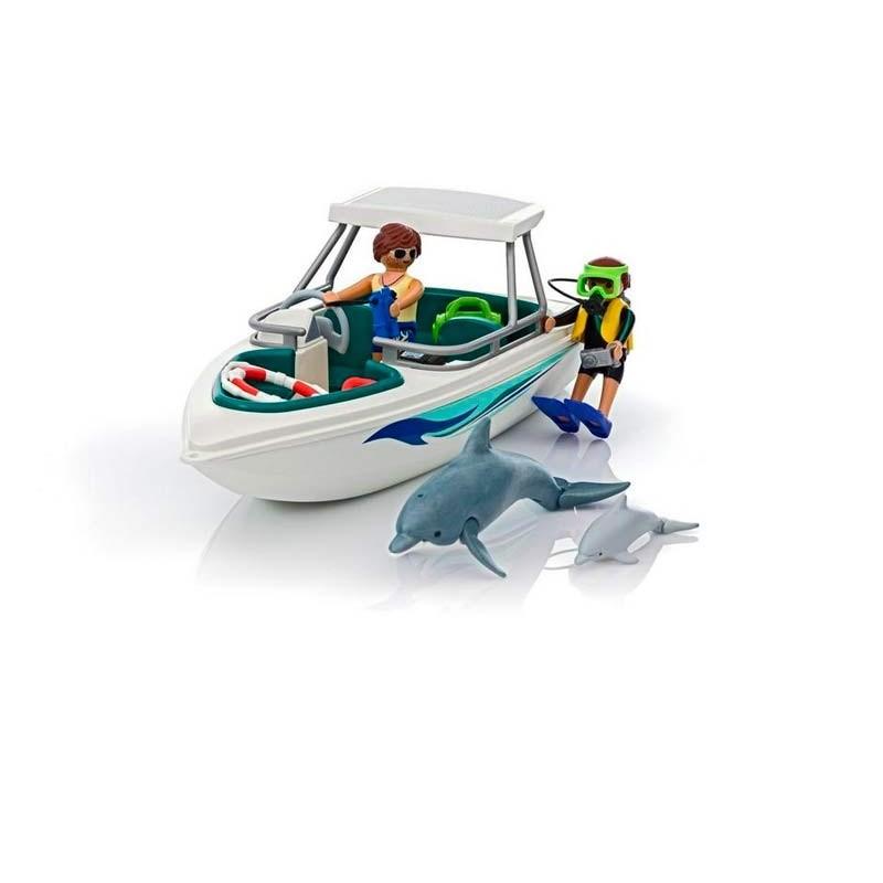 Playmobil Family Fun Viaje de Buceo