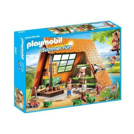 Playmobil Summer Fun Cabaña de Campamento