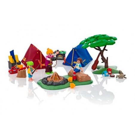 Playmobil Summer Fun Campamento con Fogata