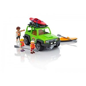 Playmobil Summer Fun Vehiculo 4x4 con Canoa