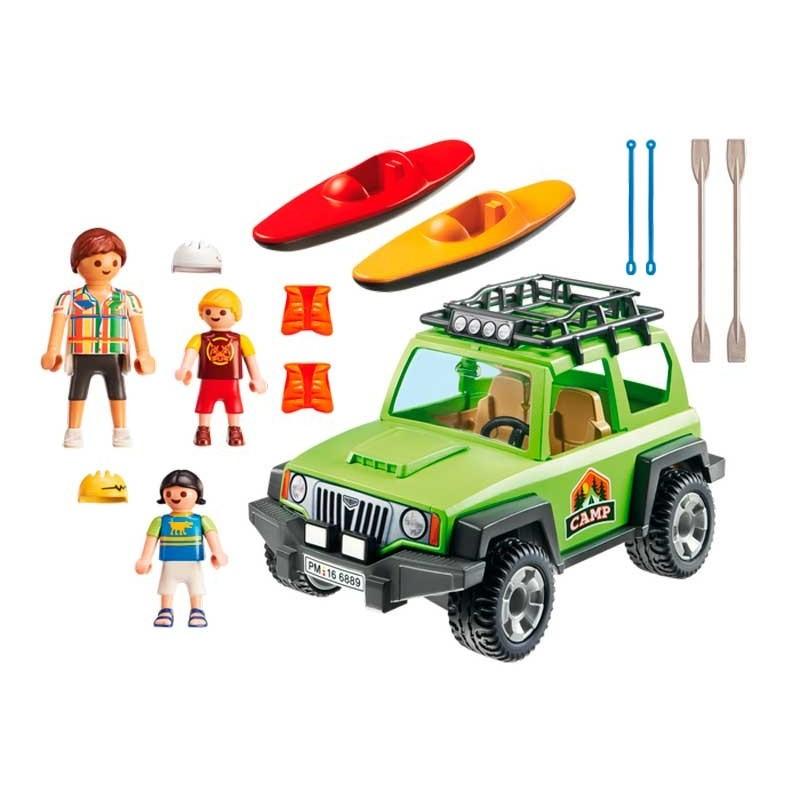 Playmobil Summer Fun Vehiculo 4x4 con Canoa
