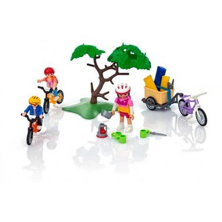 Playmobil Summer Fun Paseo en Bicicleta de Montaña