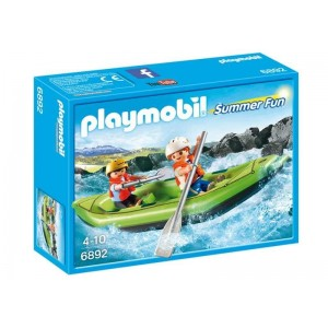 Playmobil Summer Fun Niños en Balsa Rafting