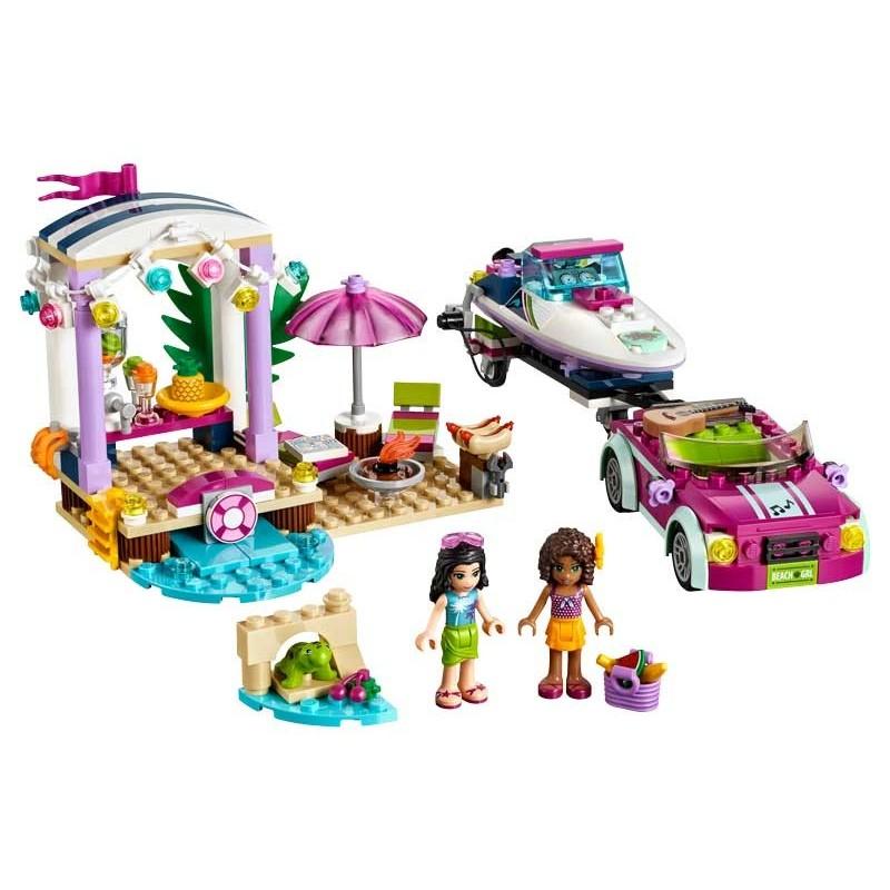 LEGO Remolque de la Lancha de Andrea