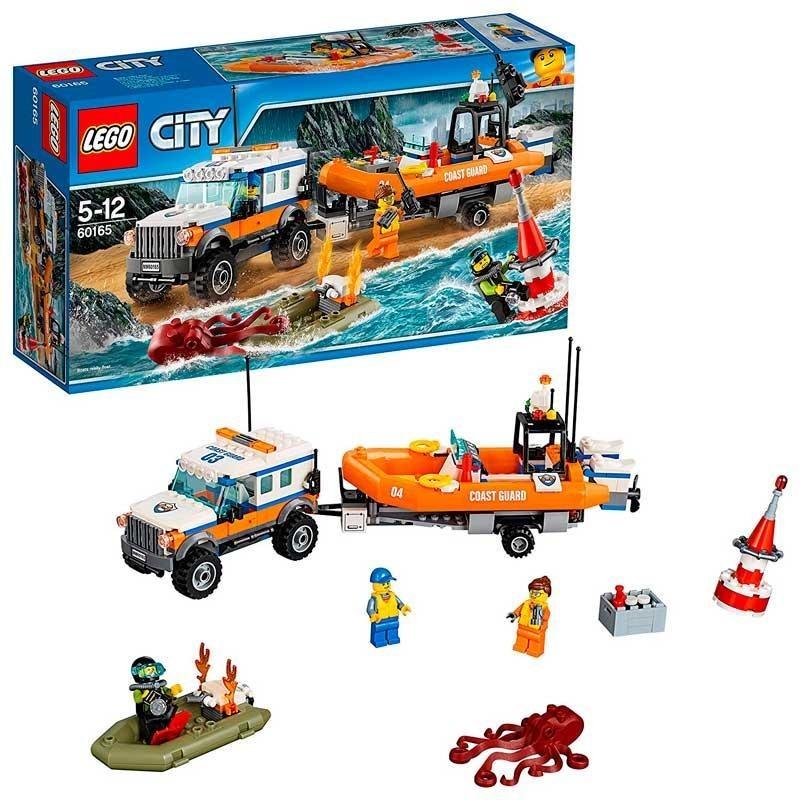 LEGO City Unidad de Respuesta 4x4