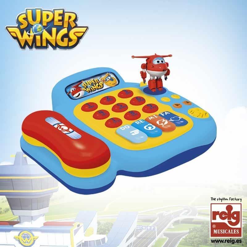 Super Wings Teléfono de Actividades