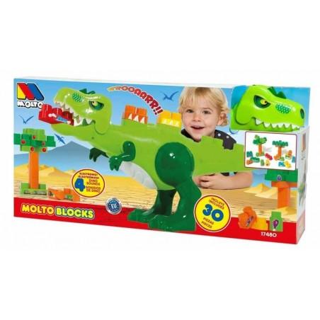 Dinosaurio Bloques 30 Piezas