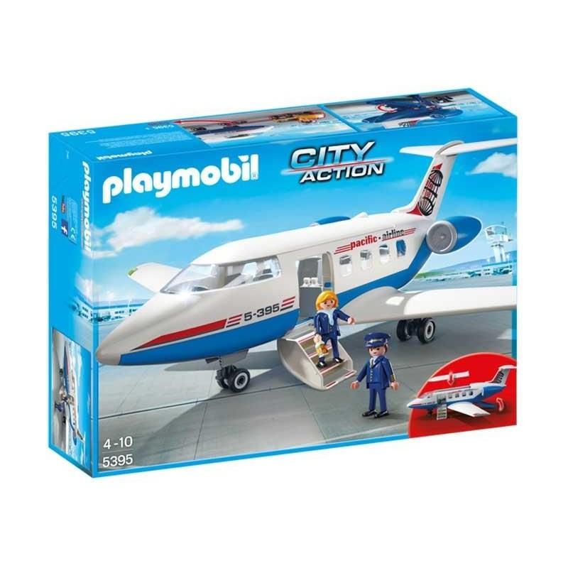 Playmobil City Action Avión de Pasajeros
