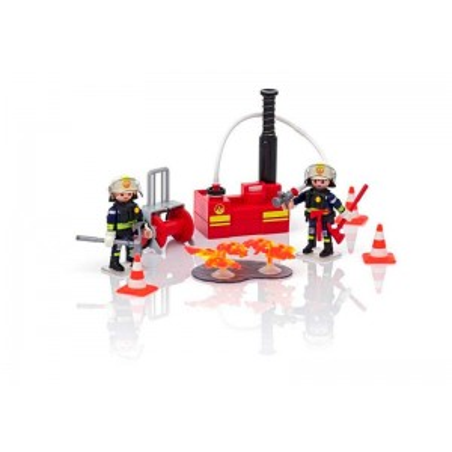 Playmobil City Action Equipo de Bomberos