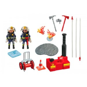 Playmobil City Action Equipo de Bomberos